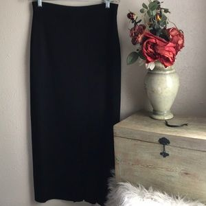 Exclusively Misook Pleated Spandex Stretch Skirt